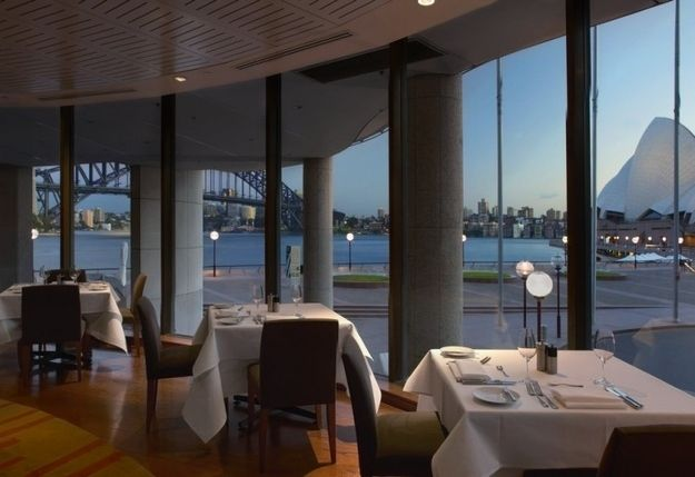 Aria Restaurant , Sydney, Australia : on the waterfront of the Sydney Harbor