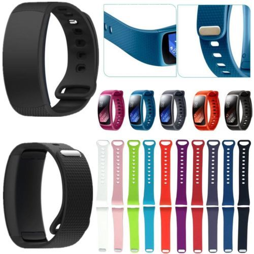 Large Size Superior Quality 2016 Luxury sport Silicone Watch Replacement Band Strap For Samsung Gear Fit 2 SM-R360 Wristband Price: USD 9 | United States