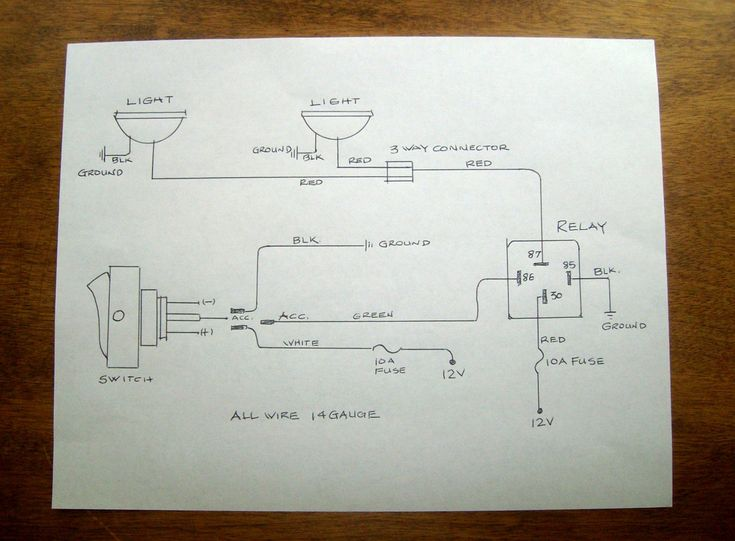 A tidy wiring diagram is a must | Spitfire Electrical