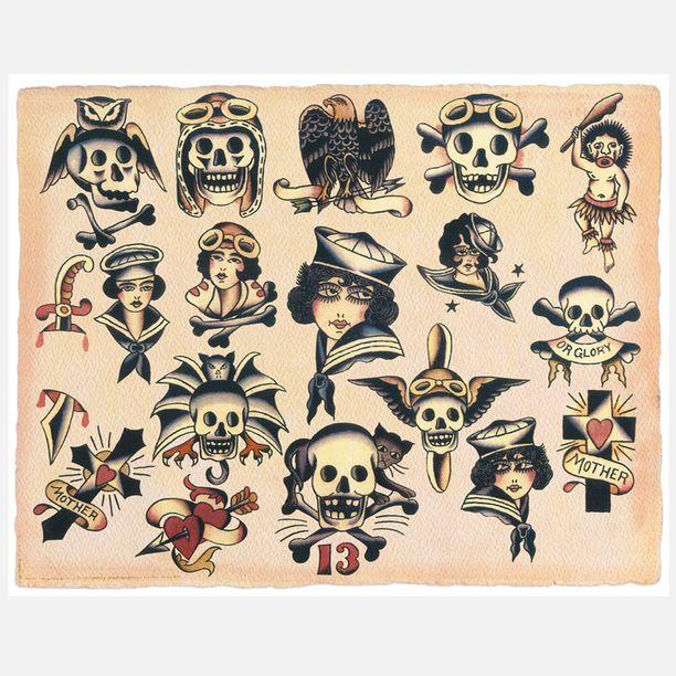 Vintage Tattoos Designs 56