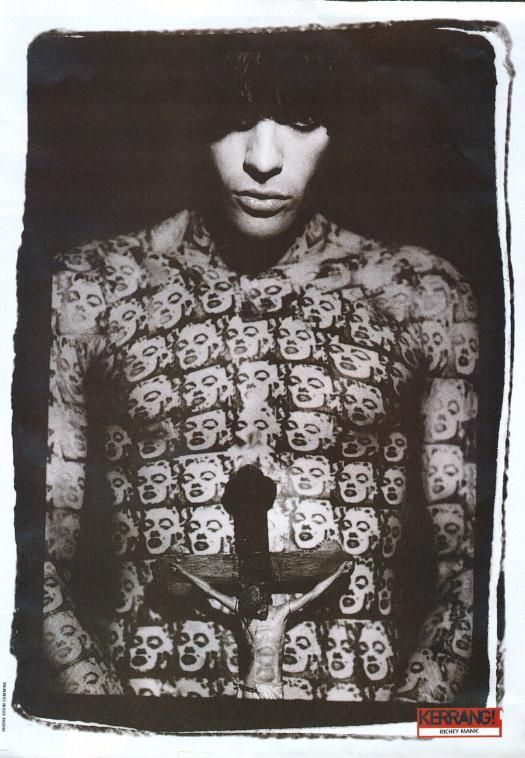 Richey Edwards (Manic Street Preachers) by Kevin Cummins, 1992