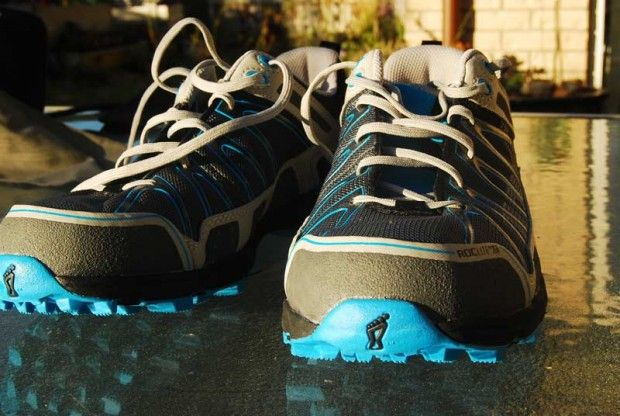 Front view of Roclite Inov-8 Trail Running Shoe.