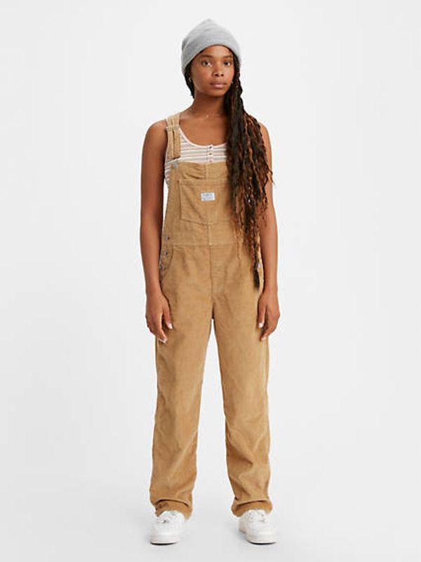 Revolt 90s Vintage Canvas Overalls Dungaree Jumpsuit Durable Multi-Pocket Jumpsuit Painters Artists Outdoor Workwear Overalls