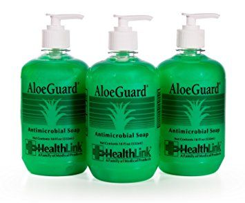 Healthlink AloeGuard 7760 Moisturizing Antimicrobial Soap, 18 oz, Aloe Vera Infused, PCMX, Light Floral… Review