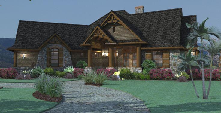 Craftsman Photo Plan #120-171 - Houseplans.com 1800sq ft