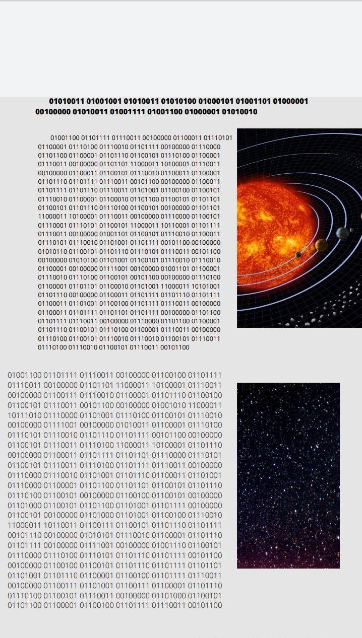 Texto En Código Binario Codigos Textos Letras