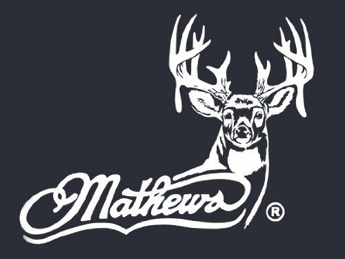 Mathews Archery Logo with Whitetail - White Hunting window decal sticker LVE Decals http://www.amazon.com/dp/B00K2QQIL2/ref=cm_sw_r_pi_dp_d1mAwb12YKZXD