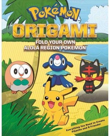 Pokémon Origami : Fold Your Own Alola Region Pokémon (Paperback)
