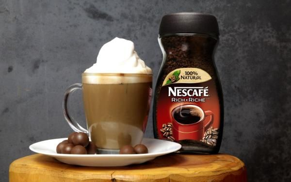 Make your next mug of NESCAFÉ a mocha!