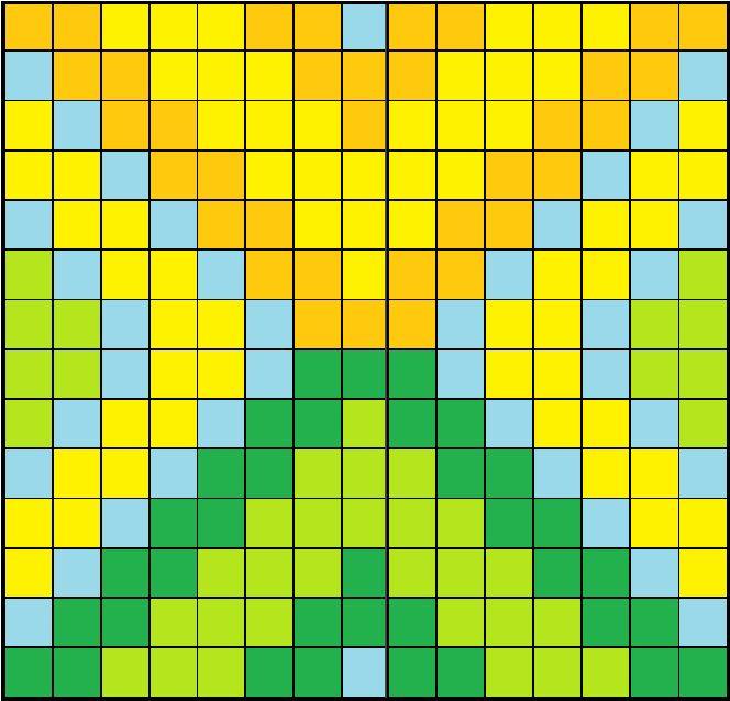 Tribal-Perler-Bead-Pattern.png (664×638)