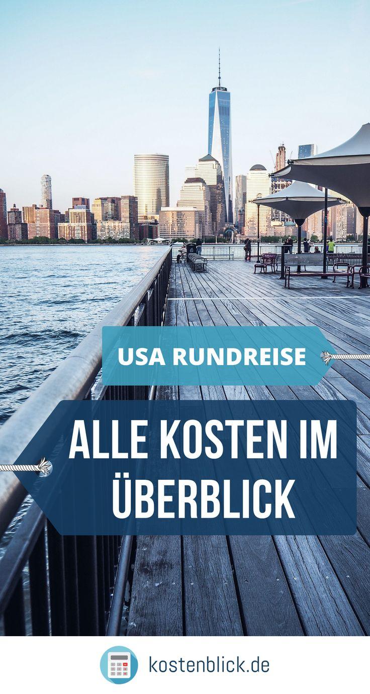 🛄 US Round Trip – Costs Overview & Planning Tips  – USA Rundreise – Kosten, Guide, Checkliste & Tipps!