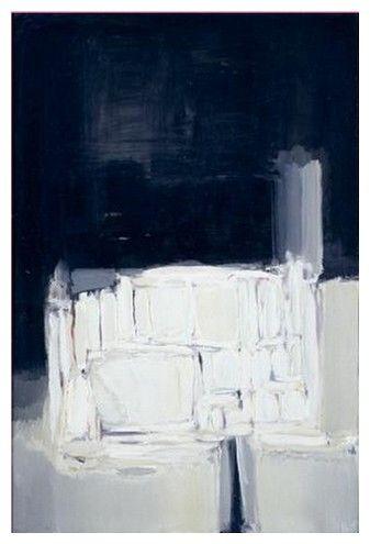 Nicolas de Staël, La Cathédrale, 1955, 195x130cm
