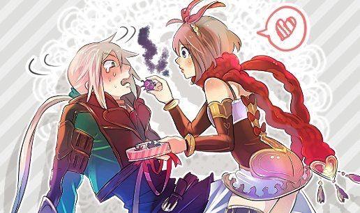 two soulsバレンタイン