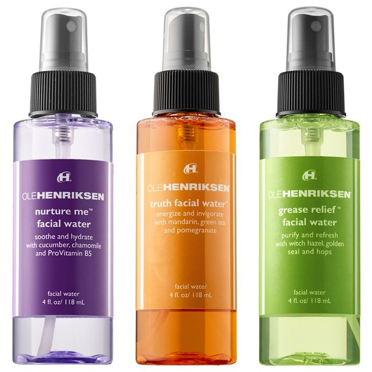 Ole Henriksen Facial Waters for Spring 2016