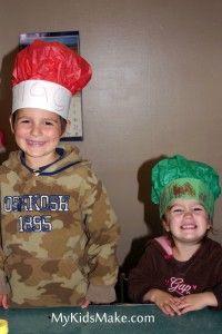 Kids Make It: Chef Hats