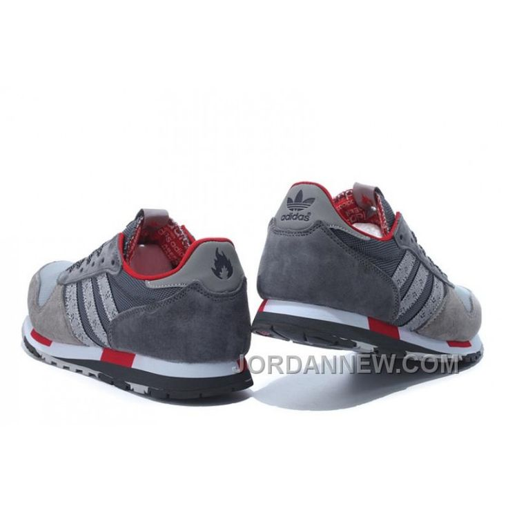 Adidas Running Shoes Women Grey Red Cheap To Buy