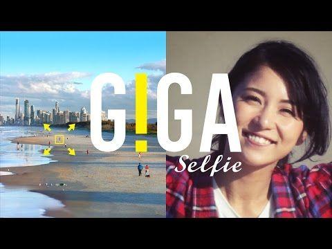 """笑顔だけじゃなくて景色も一緒に写真に残そう!あなた史上最大画素数の""""自撮り""""サービス「GIGA Selfie」   mifdesign_antenna"""