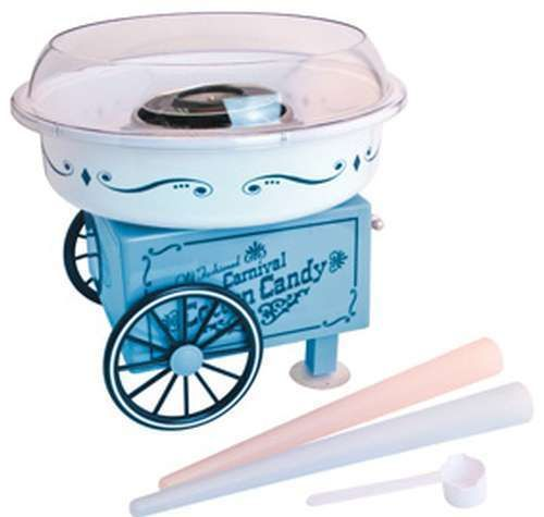 Electric Vintage Tabletop Cotton Candy Maker Machine Sugar Floss Carnival Fair