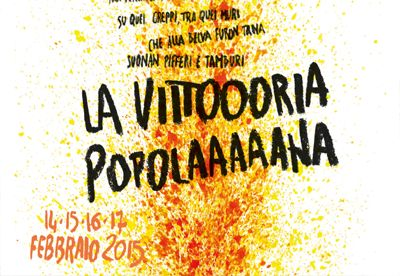 storico carnevale ivrea 2015 manifesto