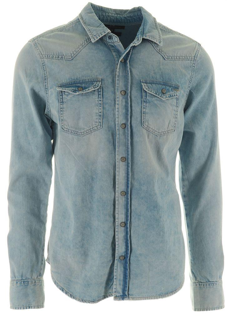 LTB Jeans ROHAN Spijkerblouse 51035 alwine wash  Description: LTB Jeans rohan Heren kleding Overhemden lichte jeans wassing? 5995  Direct leverbaar uit de webshop van Express Wear  Price: 29.98  Meer informatie