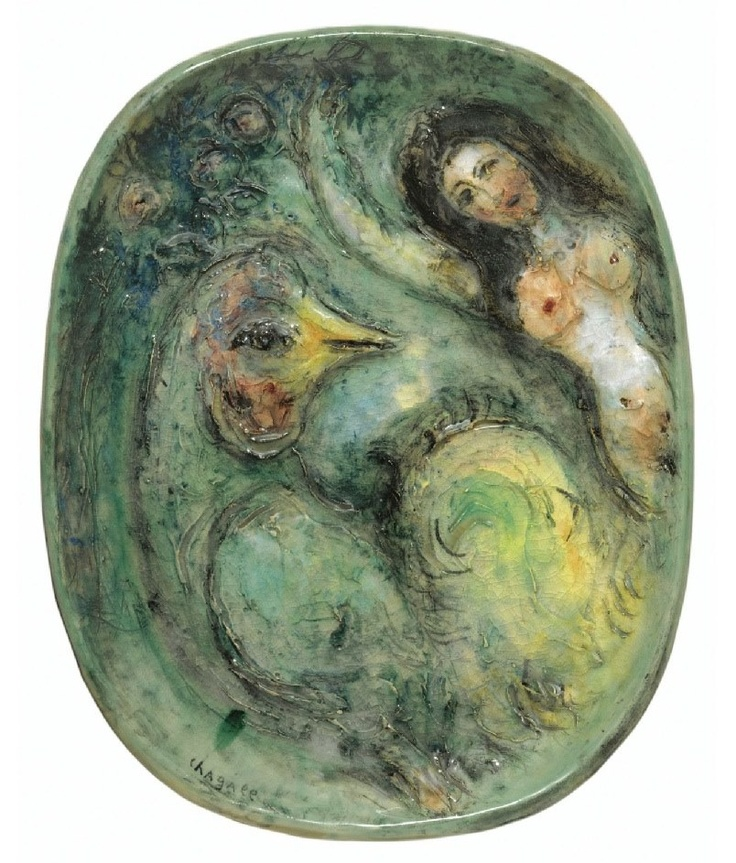 17 best images about marc chagall ceramic on pinterest for Poisson coil