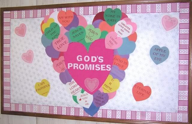 Christian Bulletin Board Ideas For February Karmashares Llc