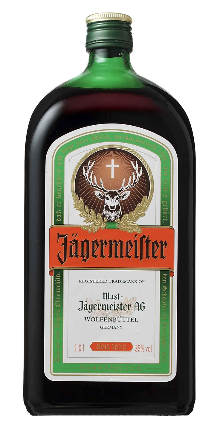 Jagermeister $26 1 litre available at West Coast Duty Free.
