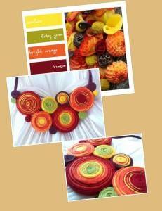 culorile toamnei colier