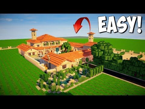 http://minecraftstream.com/minecraft-tutorials/minecraft-how-to-build-an-italian-villa-tutorial-epic-minecraft-mansion-interior/ - Minecraft: How to Build an Italian Villa - Tutorial ( EPIC MINECRAFT MANSION ) interior  Minecraft: How to Build an Italian Villa – Tutorial https://youtu.be/exHkqXZgsDE In today's video i teach you how to make a big house in minecraft, this is not just any house, this is an italian mansion tutorial but it could pass as a Spanish hous