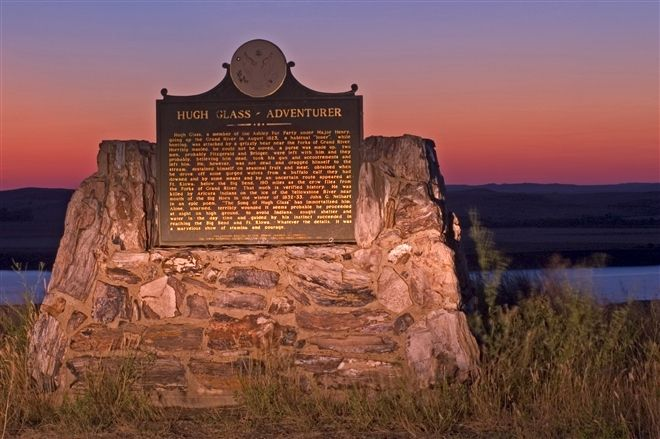 Hugh Glass Monument near Lemmon/Shadehill, South Dakota. Check out the Hugh Glass story if you don't know it already. Interesting!
