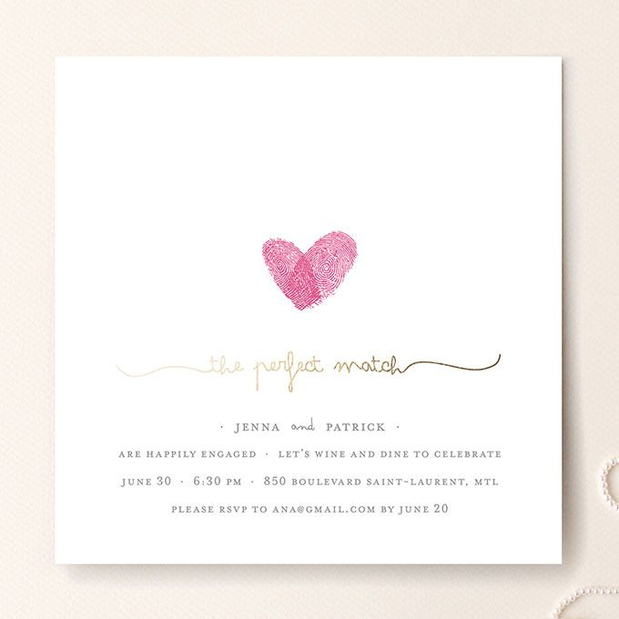 17 Best ideas about Engagement Party Invitations – Sample Engagement Party Invitations