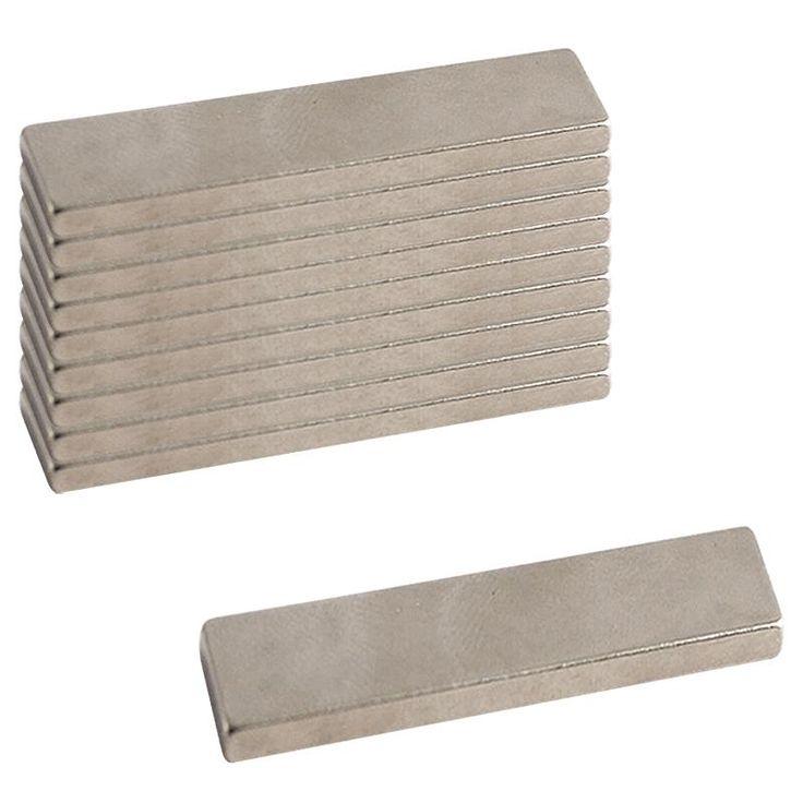 Compra nuestros productos a precios mini Imanes neodimio rectángulo - 25 x 8 mm - 10 uds - Entrega rápida, gratuita a partir de 89 € !