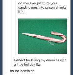 This post ~sleighs~.