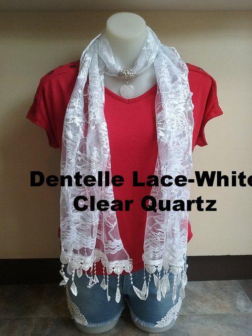 Dentelle Lace - Clear Quartz Gem