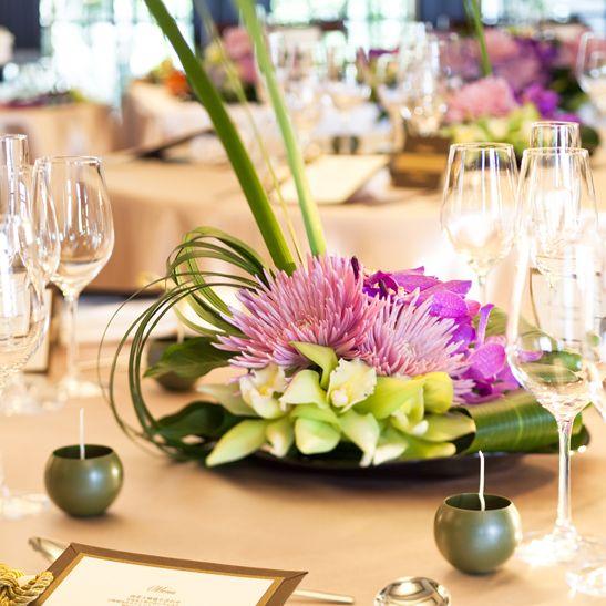 japanese style wedding flower