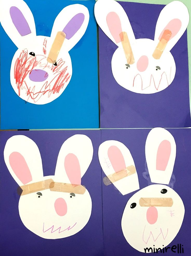 Learning about community helpers means learning about going to the doctor! Today we have a poorly bunny who needs some help! You may need: A4 Construction paper background White construction paper …