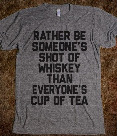 truth on a t-shirt.