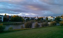Sherwood Park is a large hamlet in Alberta, Canada within Strathcona County that is recognized as an urban service area