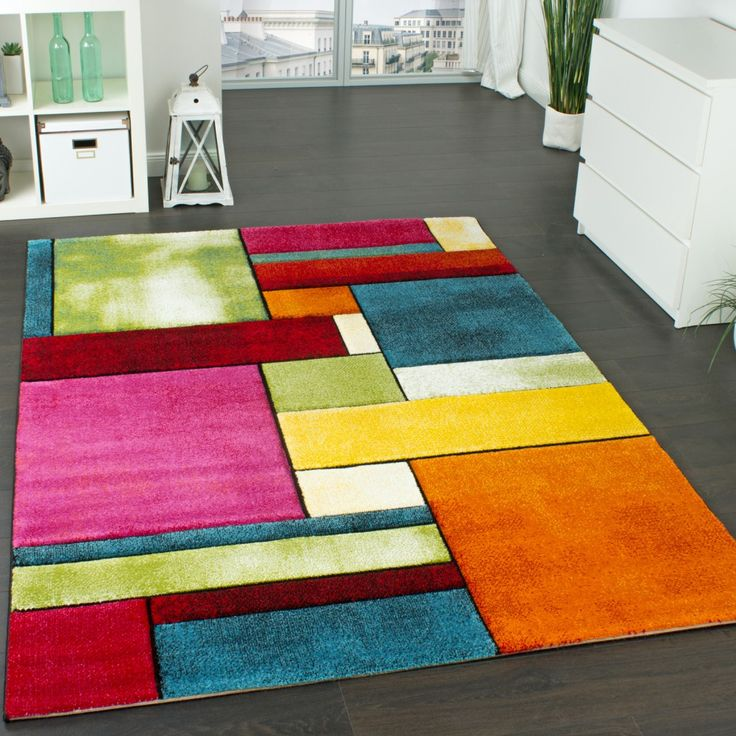 Teppich design bunt  Die besten 10+ blaugrüner Teppich Ideen auf Pinterest | Türkis ...