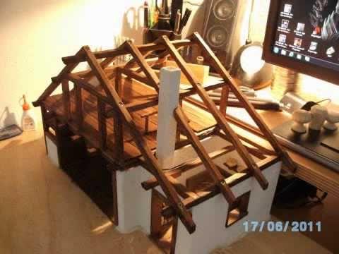 """Bauanleitung Orientalische Krippe """"Bethlehem"""" von menta-modellbau, Krippenbau - YouTube"""