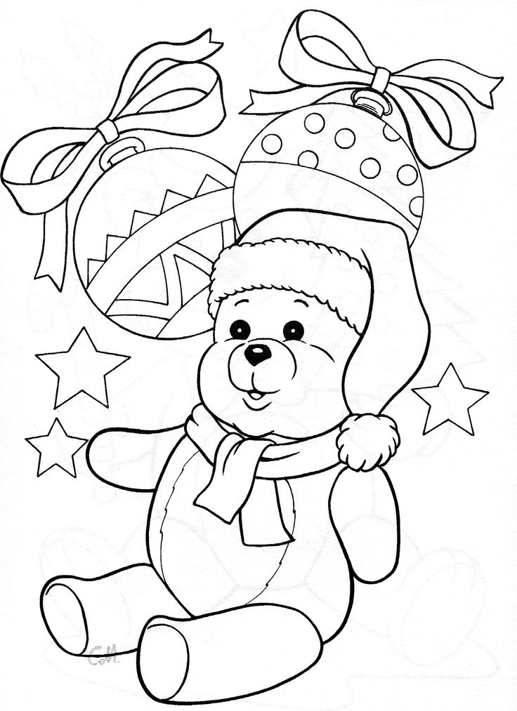 99 Best Coloring Pages Teddy Bears Images On Pinterest