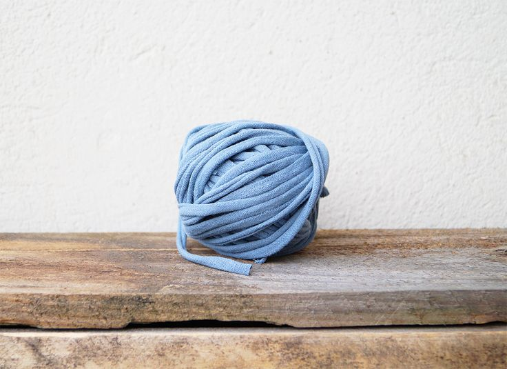 diy, craft: make your own T-shirt-yarn - in english and german