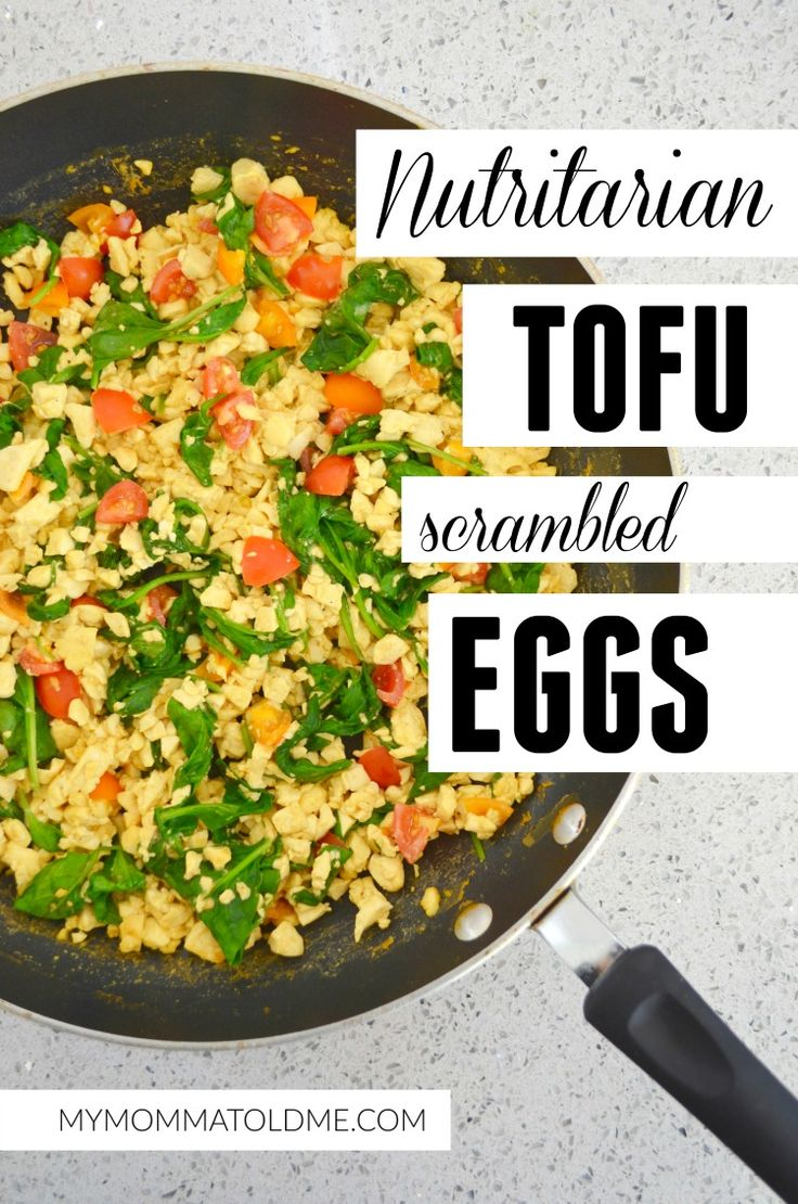 Dr Fuhrman Eat to Live Program nutritarian recipe tofu eggs vegan tofu eggs