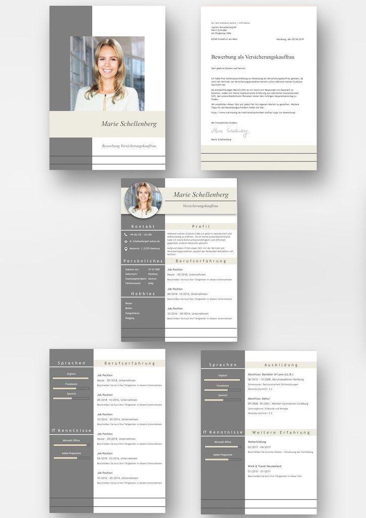 Komplett Set Cv Lebenslauf Download Die Bewerbungsvorlage Full Attention Uberzeugt Von Beginn An Das Mode Lebenslaufvorlage Lebenslauf Moderner Lebenslauf