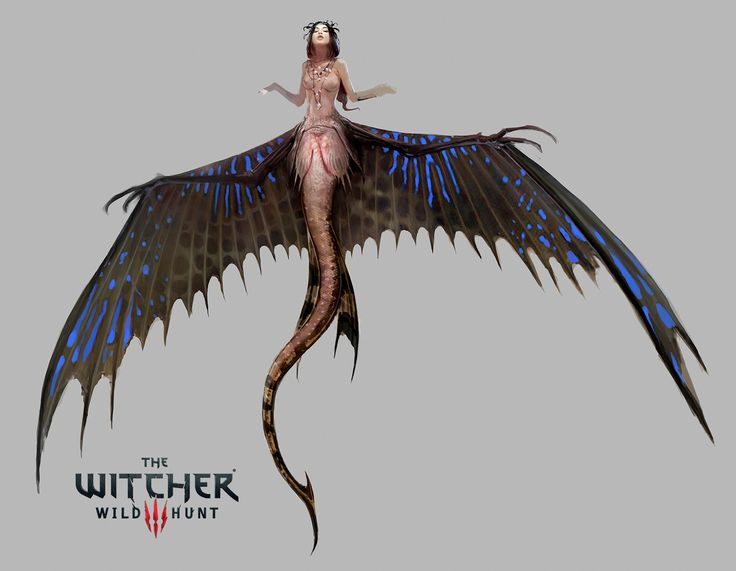 Mermaid The Witcher 3 Wild Hunt, Bartlomiej Gawel on ArtStation at https://www.artstation.com/artwork/B6ydm