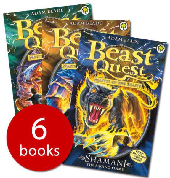 Beast Quest Series Ten Collection - 6 Books - Paperback - 9781408328088 - Adam Blade