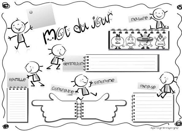 Mot du jour - www.stylo-rouge-et-crayon-gris.fr Blog Feed