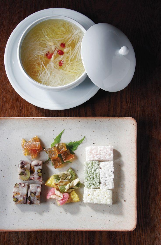korean royal court food   Korean #dessert made by Goongyeon (궁연)