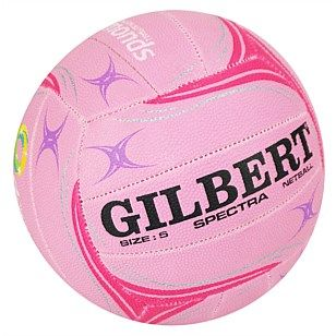 Great range of top quality netballs and netball gifts - Gilbert Spectra Training Netball - Pink Size 5 - OzSportsDirect