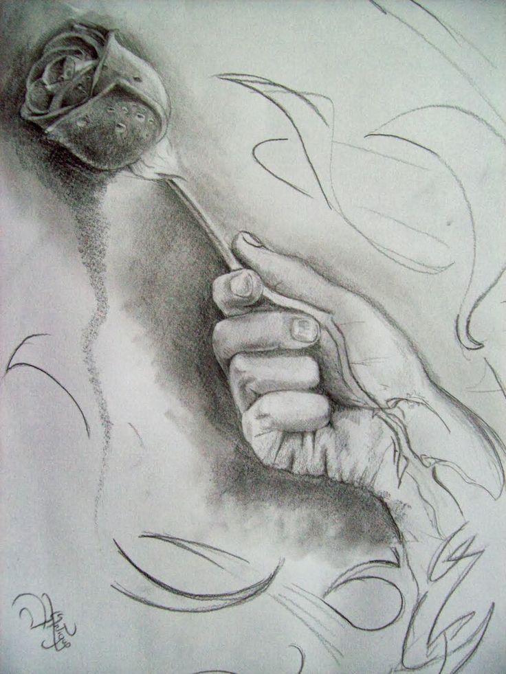 Dibujos Artisticos De Amor A Lapiz Buscar Con Google
